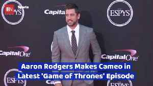 Aaron Rodgers In Special Last Episode Of 'Game Of Thrones' [Video]