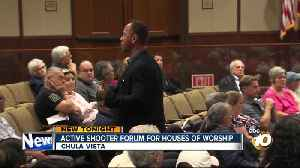 CVPD host active shooter forum for houses of worship [Video]
