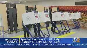 City Council Special Election Today [Video]