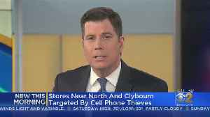 Lincoln Park Cell Phone Store Robberies [Video]