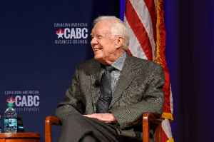 Jimmy Carter Recovering After Hip Surgery [Video]