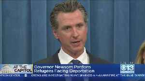 Governor Newsom Pardons Two Ex-Refugees Facing Deportation