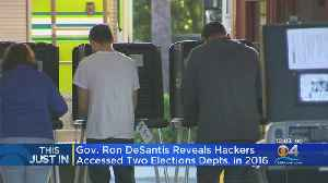 Governor DeSantis: Russian Hackers Accessed 2 Florida County Voter Databases [Video]