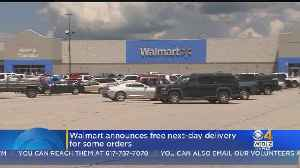 Walmart Announces Free Next-Day Delivery For Some Orders [Video]