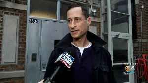 Former Congressman Anthony Weiner Released From Halfway House [Video]