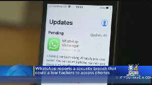 WhatsApp Reports Security Breach That Could Allow Hackers To Access Phones [Video]