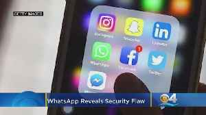 News video: WhatsApp Users Beware! Messaging Service Reveals Major Security Flaw