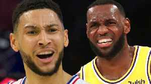 Lakers Considering TRADING Lebron James To Philly For Ben Simmons [Video]