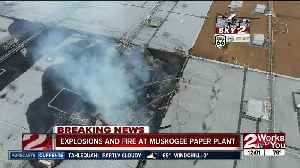 Efforts to put out Muskogee paper mill fire still underway [Video]