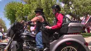 Biker Group Surprises 86-Year-Old Veteran with Ride-Along [Video]