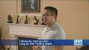 Modesto Kids Bring Home Big Prizes From 'The Price Is Right' [Video]
