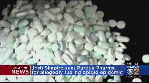 Pa. Attorney General Sues Purdue Pharma For Allegedly Fueling Opioid Epidemic [Video]