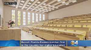 Report: Florida Ranked Number One In U.S. For Higher Education [Video]