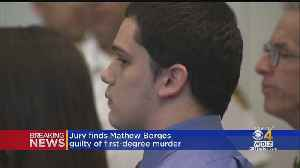 Mathew Borges Found Guilty Of First-Degree Murder In Beheading Trial [Video]