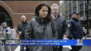 Former USC Soccer Coach Laura Janke Pleads Guilty To Accepting Bribes [Video]