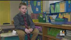 Attleboro Boy Inspired By Letter From President Trump [Video]
