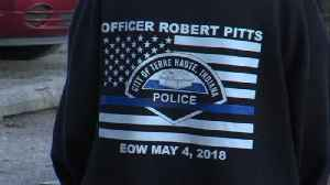 Honoring officers during Terre Haute ceremony [Video]