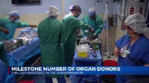 Kentucky now has two million registered organ donors [Video]