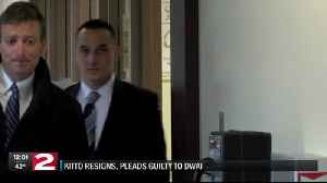 Albany cop resigns, pleads guilty to DWAI in Utica shooting case [Video]