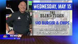 The Blind Tiger announces specials in honor of Officer McKeithen [Video]