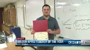 Golden Apple Teacher of the Year announced at luncheon [Video]
