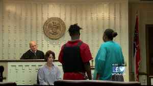 Capital murder suspect pleads not guilty to murdering three men in Artesia 5/14/19 [Video]
