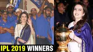 IPL 2019 Winner | Mumbai Indians TEAM Party At Nita Ambani's HOUSE | FULL PARTY [Video]