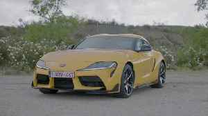 Toyota GR Supra Design Preview in Yellow [Video]