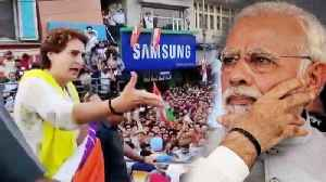 Priyanka Gandhi takes a jibe at PM Modi over his acting | Oneindia News [Video]