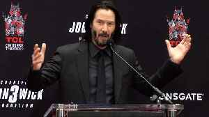 News video: Keanu Reeves Full Speech at his Handprint and Footprint Ceremony
