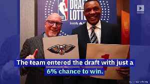 New Orleans Pelicans Win No. 1 Pick In NBA Draft Lottery [Video]