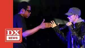 Eminem & JAY Z Now Tied For Third Most Top 10 Hits In Billboard Hot 100 History [Video]