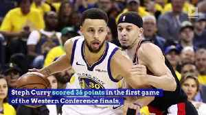 Steph Curry Leads Warriors to Game 1 Win Over Blazers [Video]