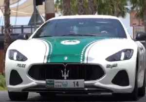 Dubai Police Adds Maserati to 'Luxurious Patrol Fleet' [Video]