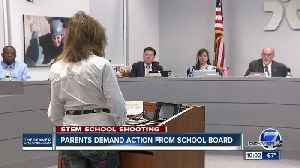 Parents demand action from school board after shooting [Video]