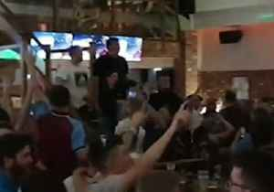 News video: Aston Villa Fans Celebrate Progress to Championship Playoff Final