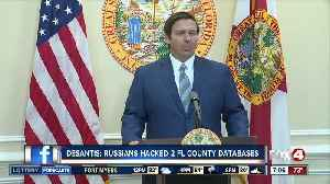 DeSantis: Russians accessed 2 Florida voting databases [Video]