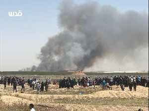 Israeli Fields Burn as Nakba Day Demonstrators Launch Incendiaries [Video]