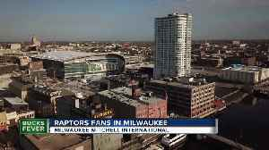 Fans from Canada ready to cheer on Raptors while in Milwaukee for game 1 [Video]