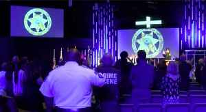 Police departments honor fallen officers [Video]