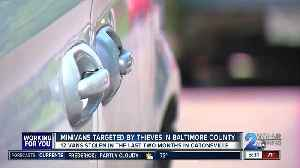 12 Dodge minivans stolen in Catonsville in last two months; police calling thefts a 'trend' [Video]