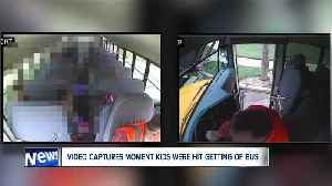 From inside the bus, video captures the terrifying moment Willowick students were hit [Video]