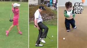 These kid golfers could give Tiger Woods some competition [Video]
