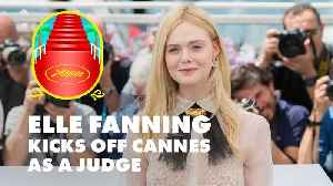 Elle Fanning brings 'teen spirit' to Cannes Film Festival jury [Video]