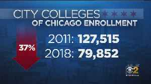 Officials Respond To Drop In City Colleges Of Chicago Enrollment [Video]