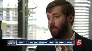 Tennessee ranks 10th in nation for medical debt [Video]