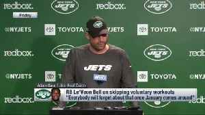 New York Jets head coach Adam Gase on running back Le'Veon Bell's OTA absence: 'Every year that he's played, he's been ready to  [Video]