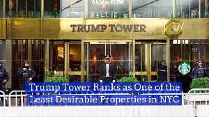 The Trump Tower Is Not As Popular Lately [Video]