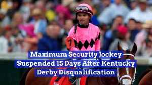 News video: Maximum Security's Jockey Is In Trouble