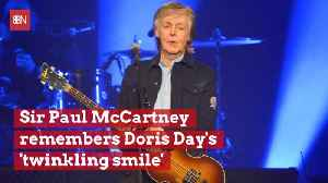 Sir Paul McCartney Talks About Doris Day [Video]